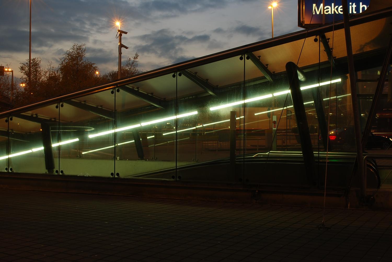 Voetgangerstunnel Schiphol