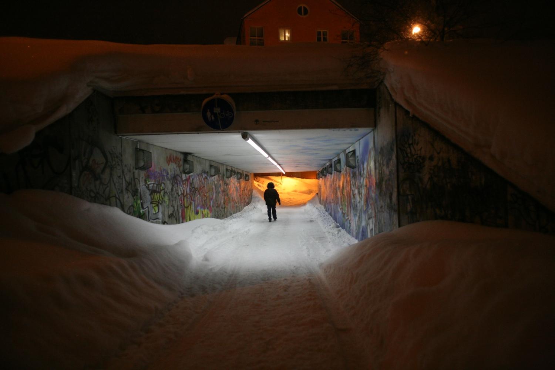 Voetgangerstunnel Sundsvall