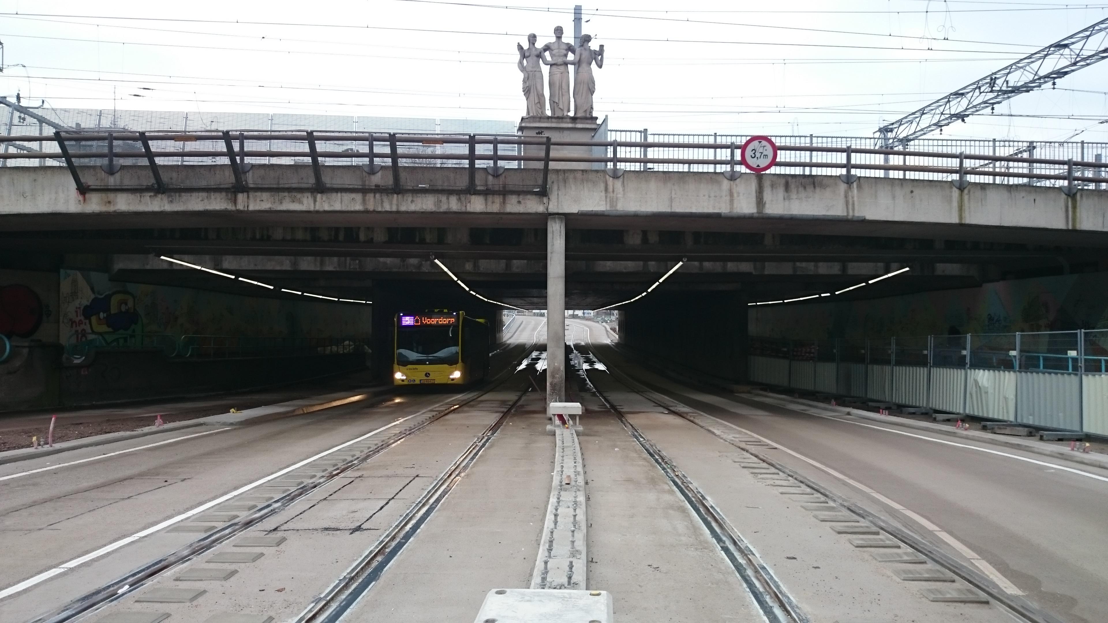 Underpass Leidseveertunnel Utrecht