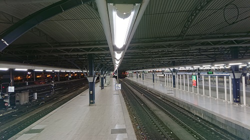 Brussels Midi Train Station Lighting Replacement By Bb Lightpipe